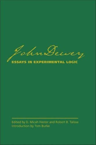 9780809326976: Essays in Experimental Logic