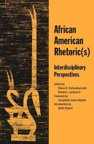 9780809327454: African American Rhetoric(s): Interdisciplinary Perspectives