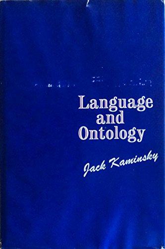 9780809329281: Language and Ontology