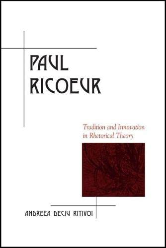9780809333608: Paul Ricoeur: Tradition and Innovation in Rhetorical Theory