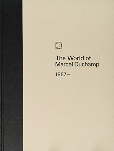 9780809402076: The World of Marcel Duchamp: 1887 - 1968