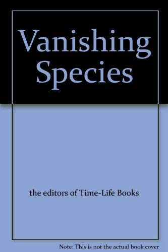 9780809416349: Vanishing Species