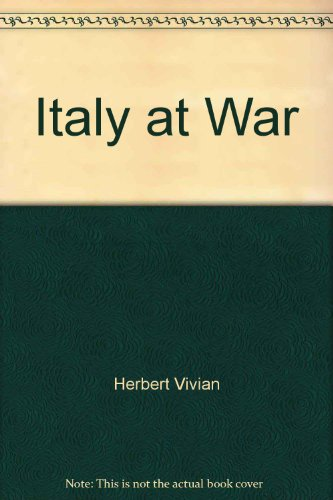 9780809434244: Italy at War