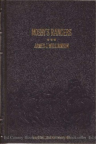 9780809442256: Mosby's Rangers (Collector's Library of the Civil War)