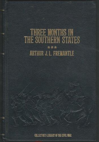 Beispielbild für Three Months in the Southern States: April-June, 1863 (Collector's Library of the Civil War) zum Verkauf von HPB-Diamond