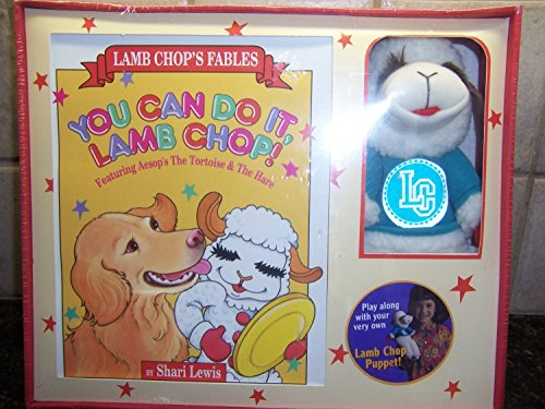 You Can Do It, Lamb Chop!/Book and Puppet (Lamb Chop's Fables) (9780809478330) by Shari Lewis