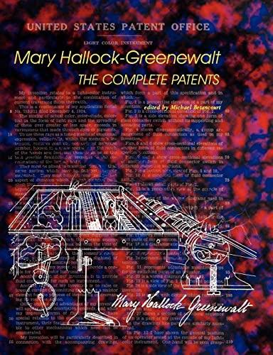 9780809511914: Mary Hallock-Greenewalt: The Complete Patents