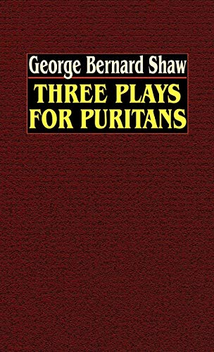 9780809533848: Three Plays for Puritans