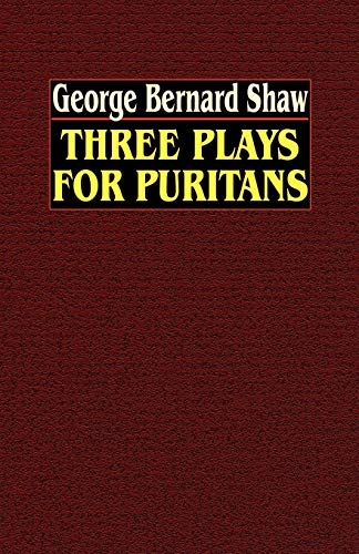 9780809533855: Three Plays for Puritans