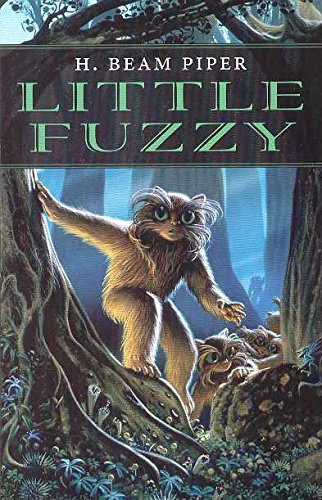 Little Fuzzy cover illustration by Michael Whelan, Wildside 2007