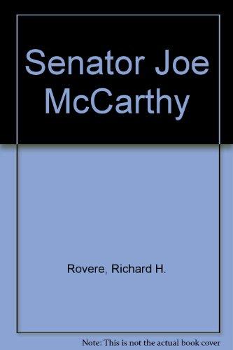 9780809590780: Senator Joe McCarthy