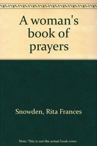 9780809617227: A woman's book of prayers