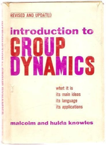 9780809618507: Introduction to Group Dynamics