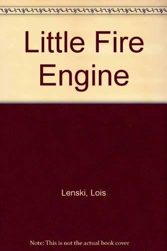 9780809810468: Little Fire Engine