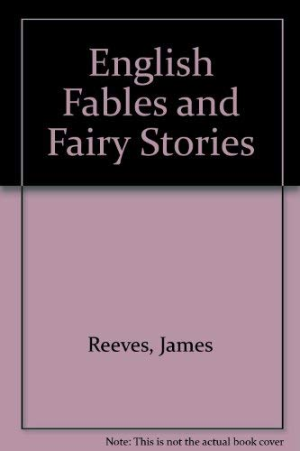 9780809823185: English Fables and Fairy Stories