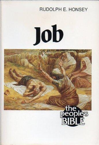 Job (People's Bible): Rudolph E. Honsey