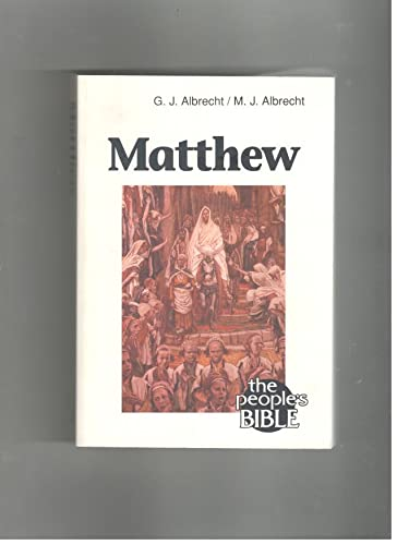 9780810005822: Matthew (The people's Bible)