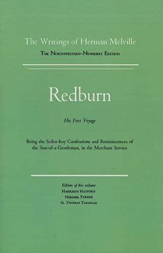 9780810100169: Redburn: Works of Herman Melville Volume Four: 4 (Writings of Herman Melville)