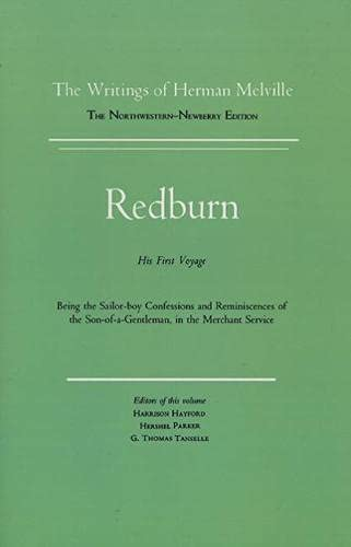 9780810100169: Redburn: 4 (Writings of Herman Melville)