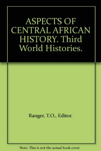 9780810100367: Aspects of Central African History