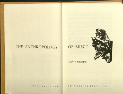 9780810101784: Anthropology of Music