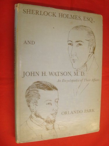 9780810101913: Sherlock Holmes Esq. and John H. Watson, M. D. an En