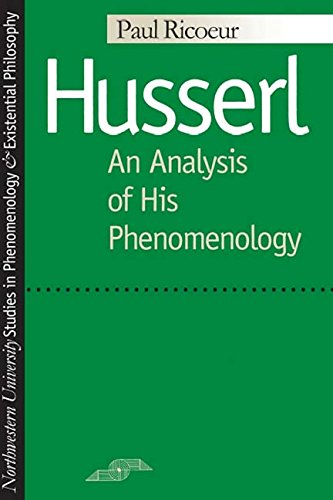 9780810102095: Husserl: An Analysis of His Phenomenology (Studies in Phenomenology and Existential Philosophy)