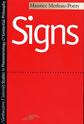 9780810102538: Signs (Studies in Phenomenology and Existential Philosophy)