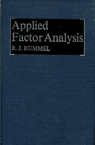 9780810102545: Applied factor analysis