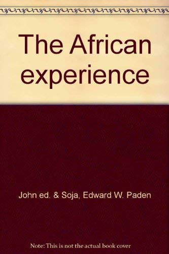 AFRICAN EXPERIENCE (two volumes), Volume I: Essays, Volume II: Syllabus.