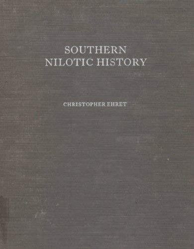 Southern Nilotic History: Linguistic Approaches to the Study of the Past