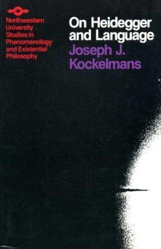 ON HEIDEGGER AND LANGUAGE.: Kockelmans, Joseph J.