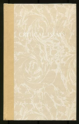 9780810103702: Critical essays