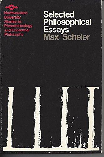 9780810103795: Selected Philosophical Essays (Northwestern University Studies in Phenomenology & Existential Philosophy)