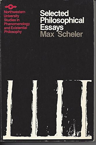 9780810103795: Selected Philosophical Essays (Northwestern University Studies in Phenomenology & Existential Philosophy)