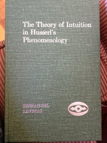 9780810104136: The Theory of Intuition in Husserl's Phenomenology (Studies in Phenomenology and Existential Philosophy)