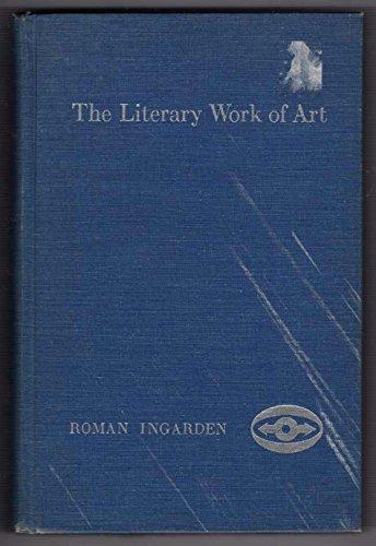 9780810104181: Literary Work of Art (Northwestern University Studies in Phenomenology & Existential Philosophy)