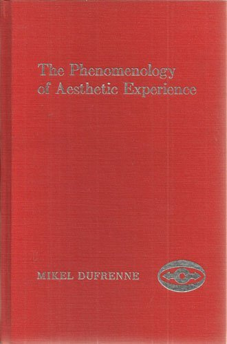 9780810104266: The Phenomenology of Aesthetic Experience
