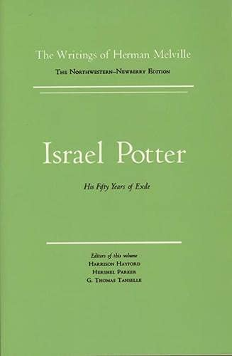 9780810105539: Israel Potter: His Fifty Years of Exile, Volume Eight, Scholarly Edition (Melville)