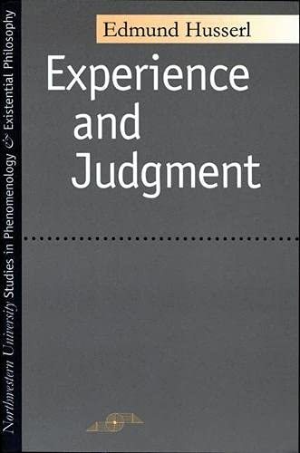 9780810105959: Experience And Judgment (Studies in Phenomenology and Existential Philosophy)