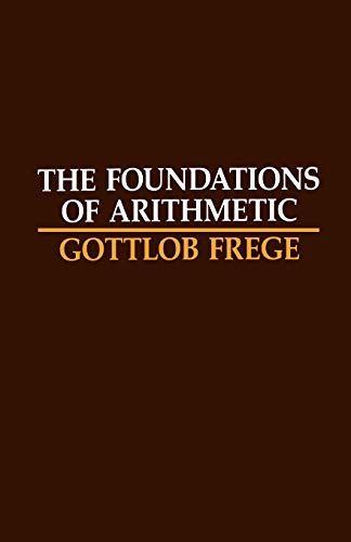 9780810106055: The Foundations of Arithmetic: A Logico-Mathematical Enquiry into the Concept of Number