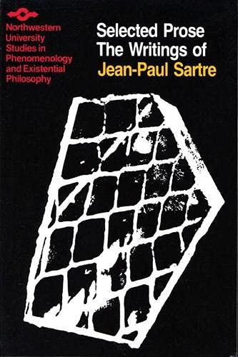 9780810107090: The Writings of Jean-Paul Sartre Volume 2: Selected Prose (Studies in Phenomenology and Existential Philosophy)