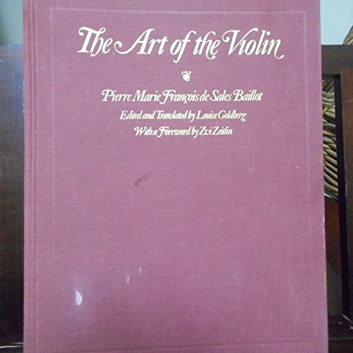 9780810107533: The Art of the Violin