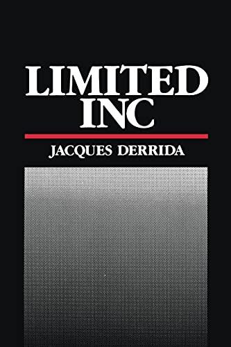 9780810107885: Limited Inc