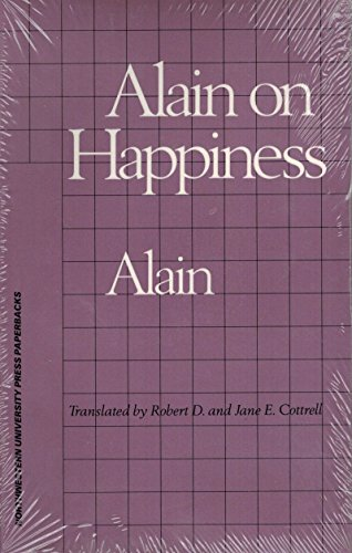 9780810108202: Alain on Happiness