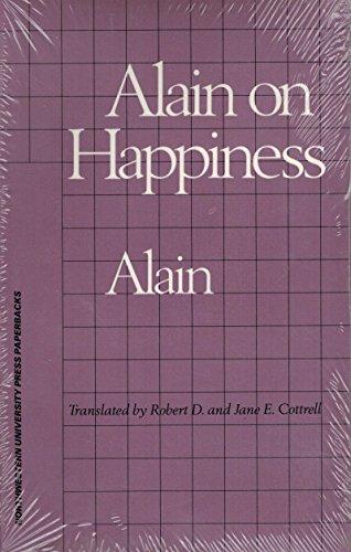 9780810108202: Alain on Happiness