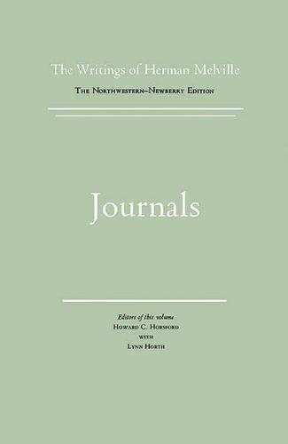 9780810108226: Journals: Volume Fifteen, Scholarly Edition (Melville) (Vol 15)