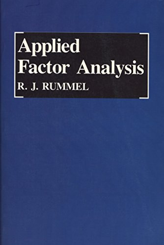 9780810108240: Applied Factor Analysis