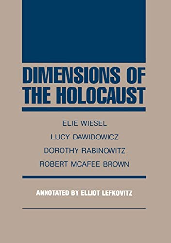 9780810109087: Dimensions of the Holocaust