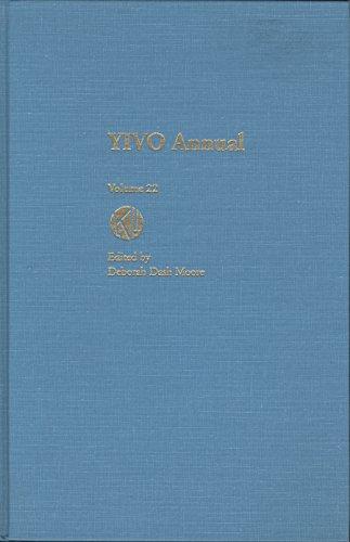 Yivo Annual Volume 22: Israel Pressman, Moses